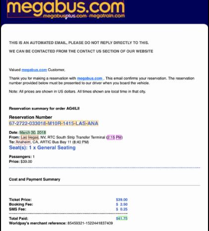 Bus Ticket OCR API