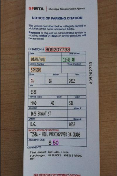 Parking Ticket OCR API
